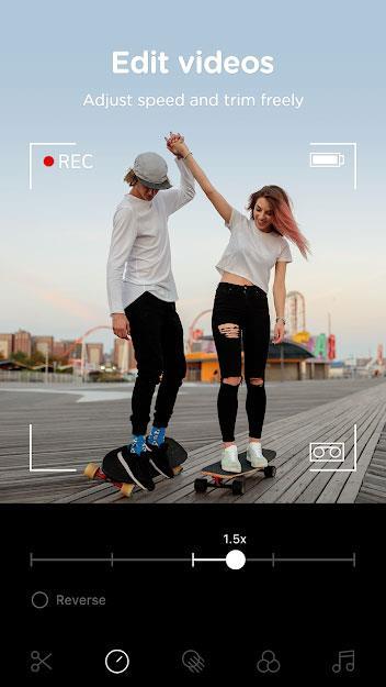 B612 for iOS 9.4.12-自撮り写真を撮り、アニメーション付きの自撮り動画を撮る