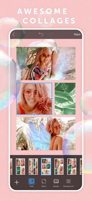 PicsArt Photo Editor & Collage pour iOS 15.5.0 - Édition de photos, collage de photos, retouche vidéo et selfie chatoyant