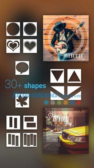 Font Studio for iOS 1.2.0-iPhone / iPadにキャプションアートワークを挿入