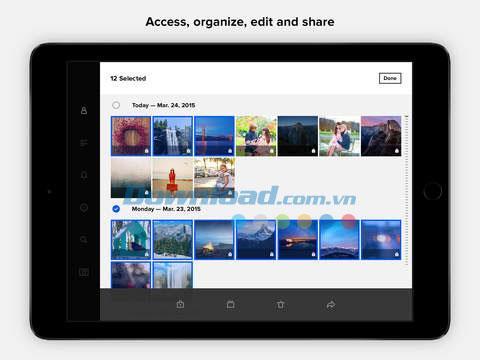 Flickr für iOS 4.10.3 - Speichern und teilen Sie Fotos schnell auf dem iPhone / iPad
