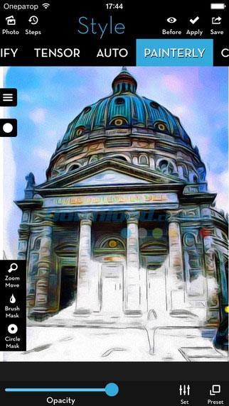iOS3.90用のiColoramaS-iPhone / iPadで写真を絵画に変える