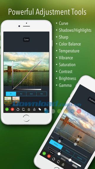 iOS2.5用iDarkroom-iPhone / iPadの多用途の写真編集ツール