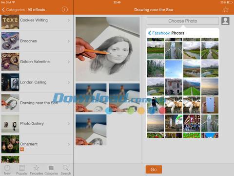 PhotoFunia for iOS 4.0.10-iPhone / iPadでのユニークな写真効果