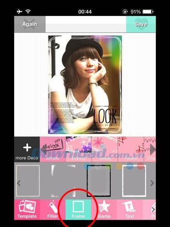 DECOPIC pour iOS 2.4.3 - Modifier des photos de style Kawaii sur iPhone / iPad