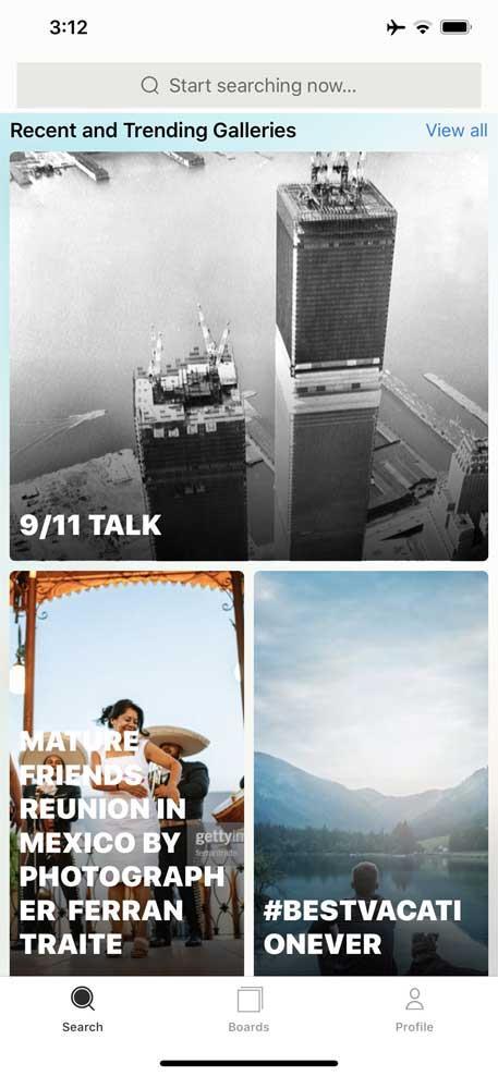 Getty Images pour iOS 7.2.8 - Stock Photo en ligne sur iPhone / iPad