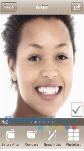 Best Face Free für iOS 2.0.1 - Porträt-Bildbearbeitung für iPhone / iPad