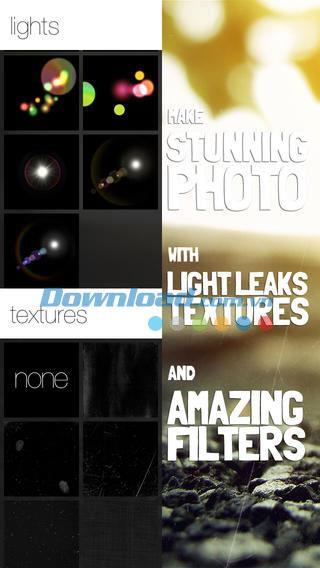 Beautiful Cap pour iOS 1.5 - Édition complète de photos sur iPhone / iPad
