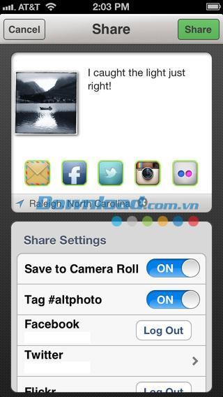 Alt Photo pour iOS 1.2.0 - Effets photo élégants sur iPhone / iPad