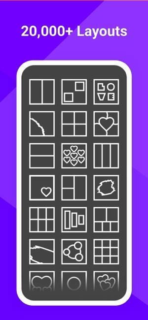 PhotoGrid für iOS 7.7.91 - Wunderschöne Fotocollage-Anwendung auf iPhone / iPad