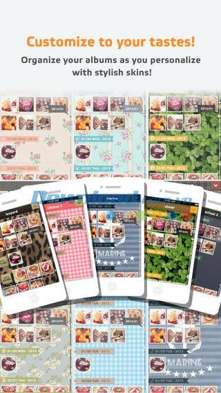 Cameran Album für iOS 1.5.5 - Verwalten Sie Fotoalben auf iPhone / iPad