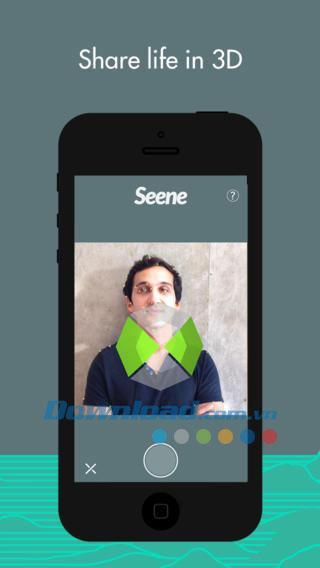 Seene pour iOS 1.0.4 - Prenez des photos 3D avec iPhone / iPad