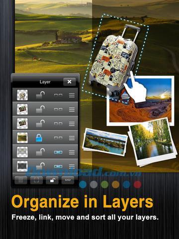 iOS1.0.1305.1用の無料の視覚化-iPhone / iPad用のプロフェッショナルPNG画像デザイン
