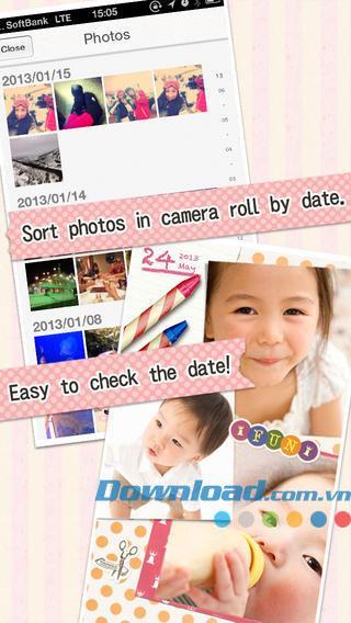 Miru Photobook for iOS 1.9.6-iPhone / iPad用の自動コラージュを作成する