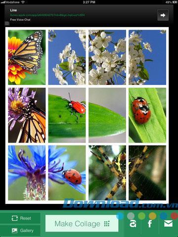 Collage Camera App for iPad 1.1 - Créez facilement des collages de photos sur iPad