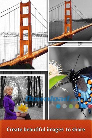 Paint FX Free für iOS 1.0 - Einzigartige Fotoeffekte für iPhone / iPad