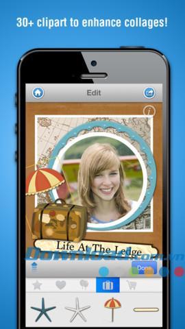 iOS1.4.0用の画像コラージュメーカー-iPhone / iPad用の素晴らしい写真コラージュ編集