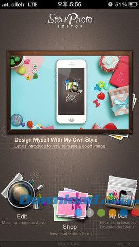 Star Photo Editor für iOS 1.6.2 - Bearbeiten Sie stilvolle Fotos für iPhone / iPad