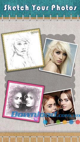 Photo Sketch Free für iOS 1.1 - Bleistiftmaleffekt für iPhone / iPad