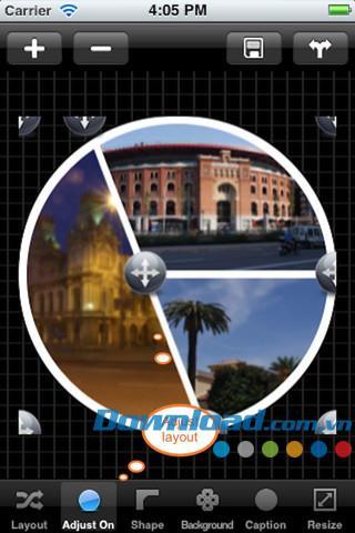 MyFrames Free for iOS 1.6.10-iPhone / iPad用の写真コラージュソフトウェア