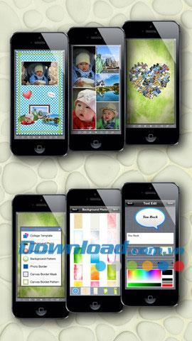 Magic Collage pour iOS 1.58 - Créez des collages pour iPhone / iPad