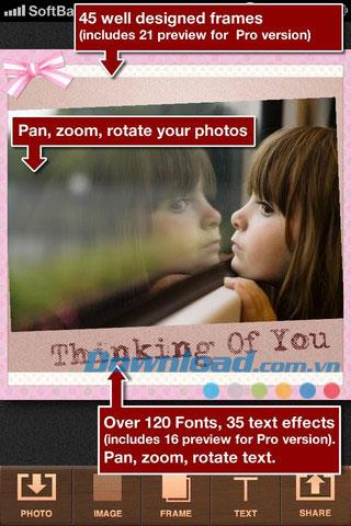 InstaWord Lite for iOS 1.0.2-iPhone / iPad用のInstagram写真にテキストを挿入