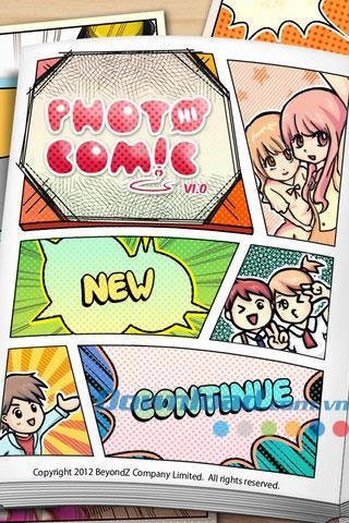 iOS1.00用フォトコミック-iPhone / iPadでコミックを描く