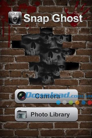 Snap Ghost für iOS 1.1.1 - Ghost-Fotoeffekte für iPhone / iPad