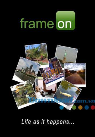 FrameOn für iOS 1.4 - Foto-Sharing-Software für iPhone / iPad