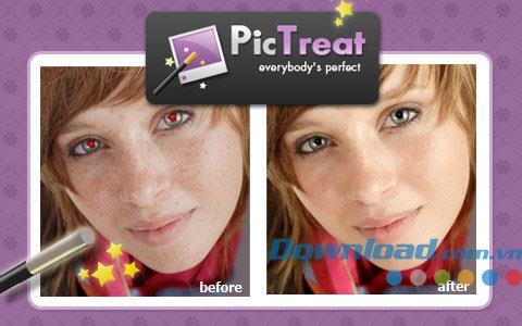 PicTreat für iOS 1.2 - Fotobearbeitungssoftware für iPhone / iPad