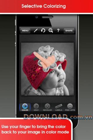 InstaSplash für iOS 1.1 - Fotofarbkorrekturanwendung für iPhone