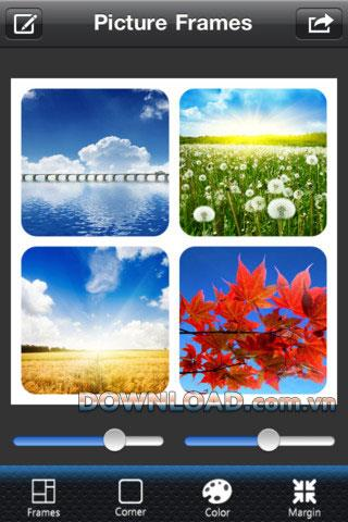 iOS用額縁HDプロ-iPhone用フォトコラージュソフトウェア