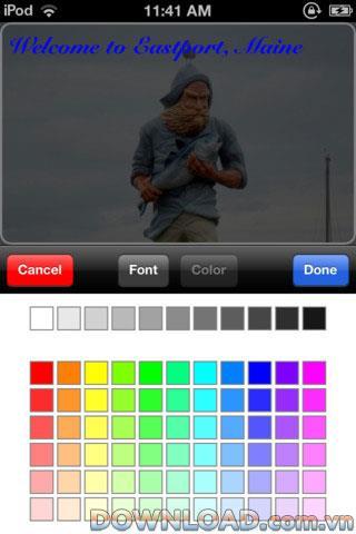 iOS用CaptionCard-iPhone用の写真にテキストを挿入するアプリケーション