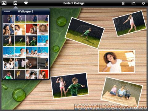 iPad用の完璧なコラージュ-iPad用の写真コラージュソフトウェア