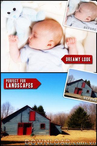 Camera Dream pour iOS - Outil de retouche photo pour iPhone
