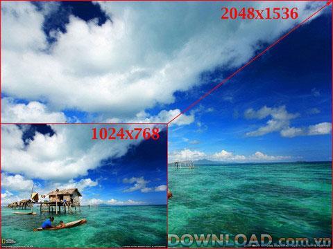 Retina Booth Lite für iPad - Ein Tool zum Skalieren von Hintergrundbildern HD iPad