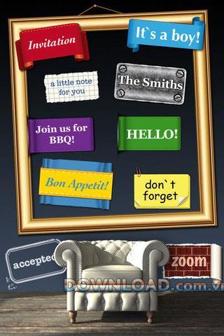PHOTO2text für iOS - Fotoaufkleber-Software für iPhone