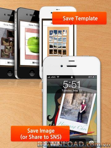iPad用フォトスライスHD-iPad用トリミングソフトウェア