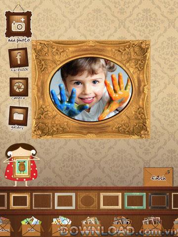 Annie foriPadのフレーム-iPad用の額縁を追加するアプリケーション