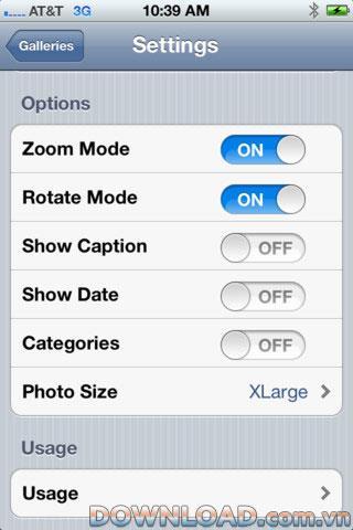 Sync Photo pour iOS - Synchroniser les photos SmugMug sur iPhone