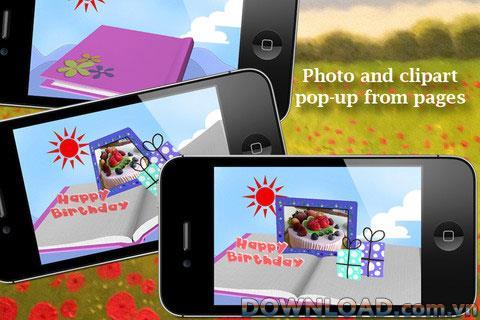 Pop-up Album pour iOS - Logiciel de diaporama d'albums pop-up pour iPhone
