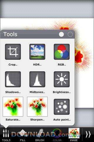 PhotoViva für iOS - Fotobearbeitungs- und Malwerkzeug für iOS
