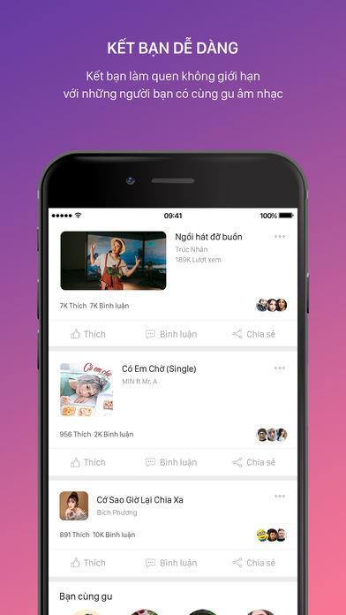 Keeng pour iOS 3.71 - Le service gratuit de streaming de musique et de films de Viettel