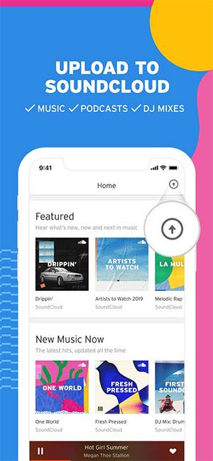SoundCloud for iOS 5.112.0-iPhone / iPadの音楽共有ネットワーク
