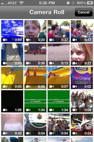Video-Joiner Free pour iOS 2.2 - Application pour joindre des clips vidéo sur iPhone / iPad