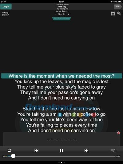 SongFreaks pour iOS 2.1.1 - Service de musique en ligne sur iPhone / iPad