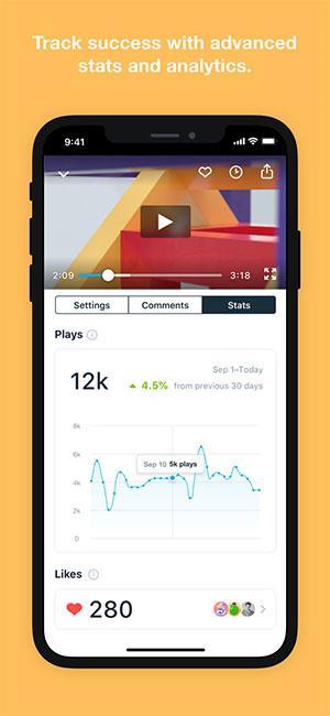 Vimeo für iOS 7.36.0 - Sehen und teilen Sie HD-Videos kostenlos