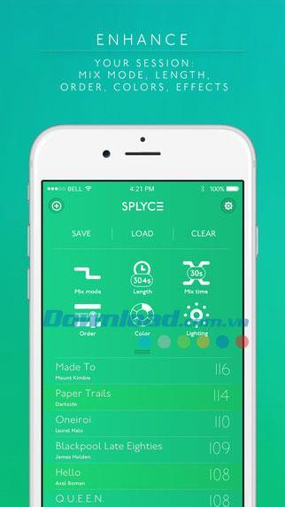 Splyce for iOS 2.4-iPhone / iPadの多機能音楽プレーヤー