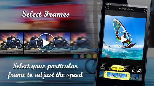 ClipSpeed für iOS 1.1 - Erstellen Sie Zeitlupen- oder Zeitlupenvideos auf dem iPhone / iPad