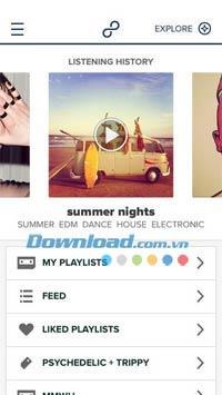 8tracks pour iOS 3.0.10 - Écoutez une liste de lecture de musique personnelle sur iPhone / iPad