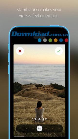 Hyperlapse pour iOS 1.0.2 - Application d'enregistrement vidéo Time lapse d'Instagram